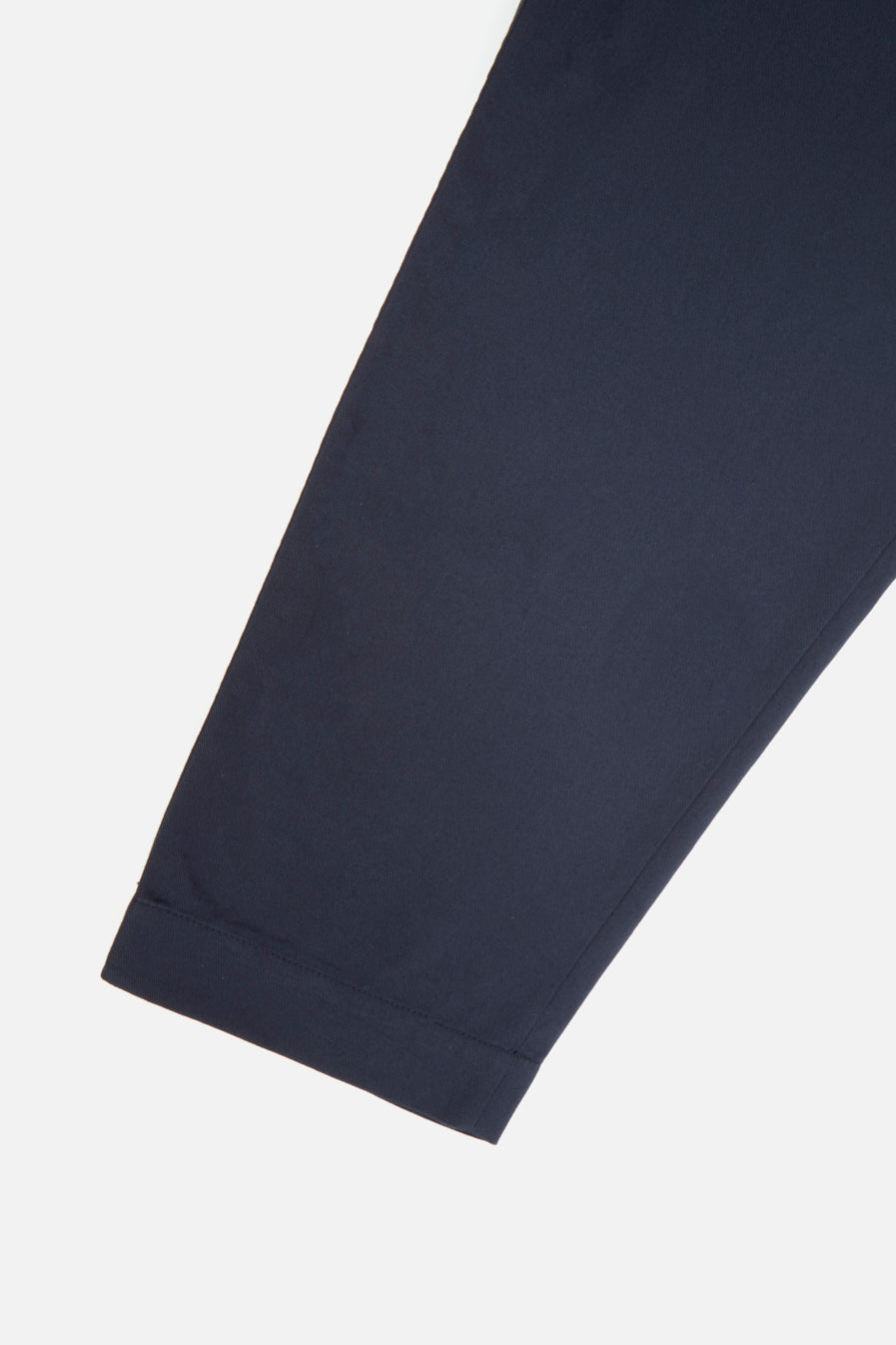 Universal Works Pleated Track Pant in Navy Twill