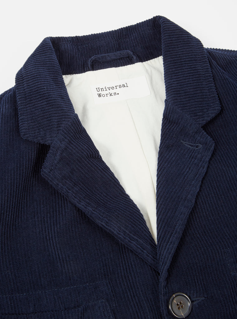 Universal Works Barra Jacket in Navy Cord