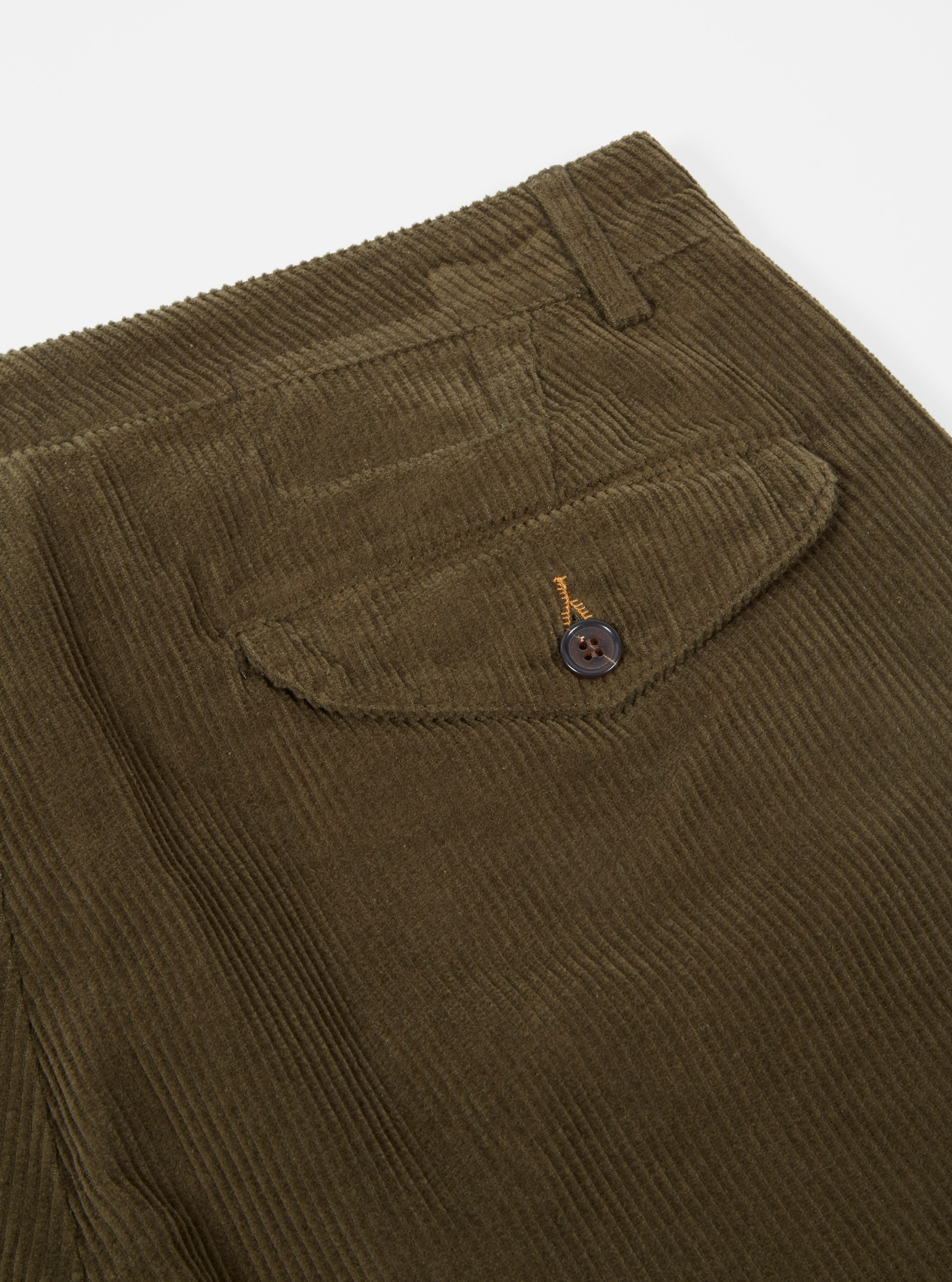 Universal Works Aston Pant in Olive Cord