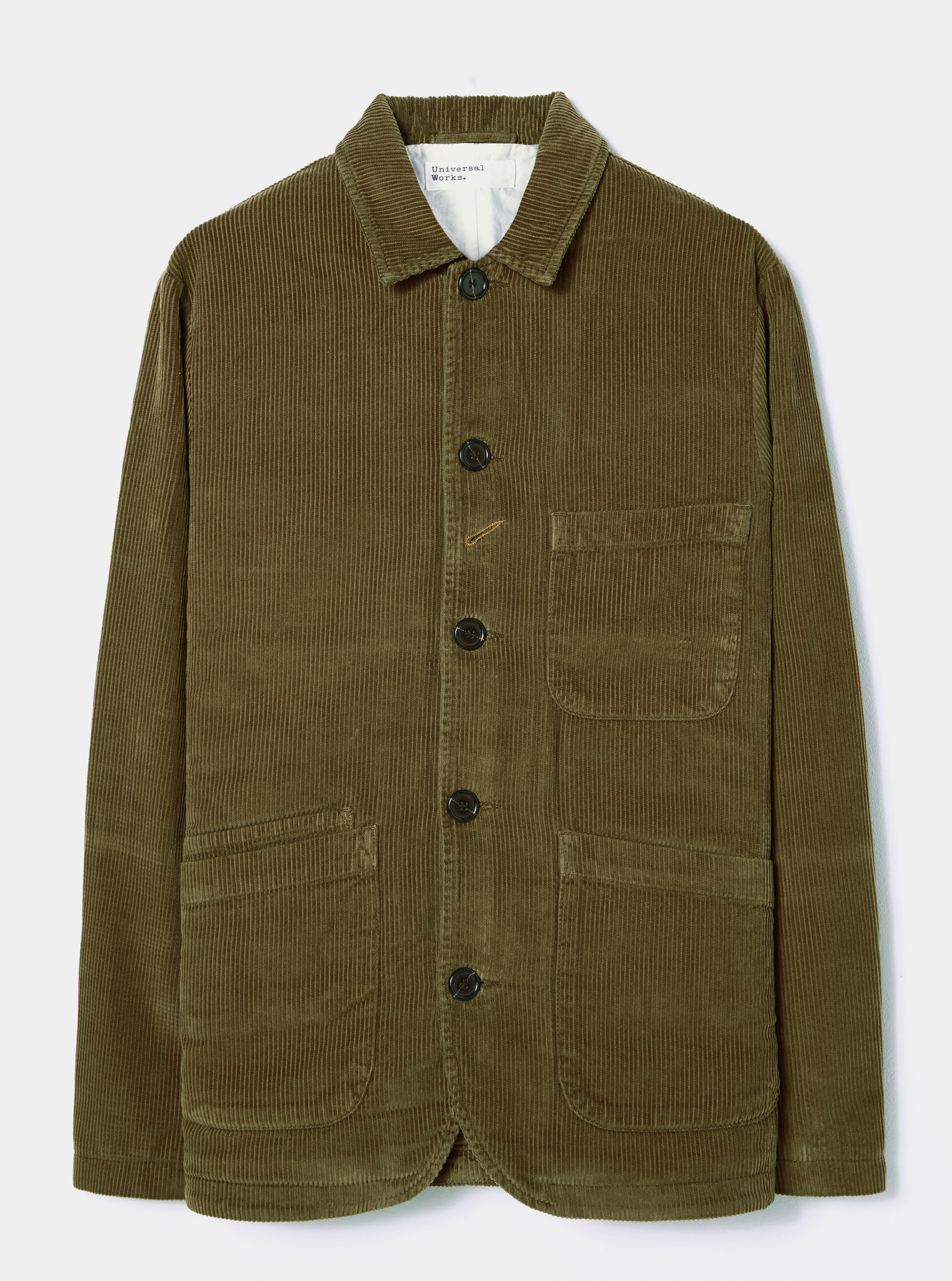 Universal Works Bakers Jacket in Olive Cord