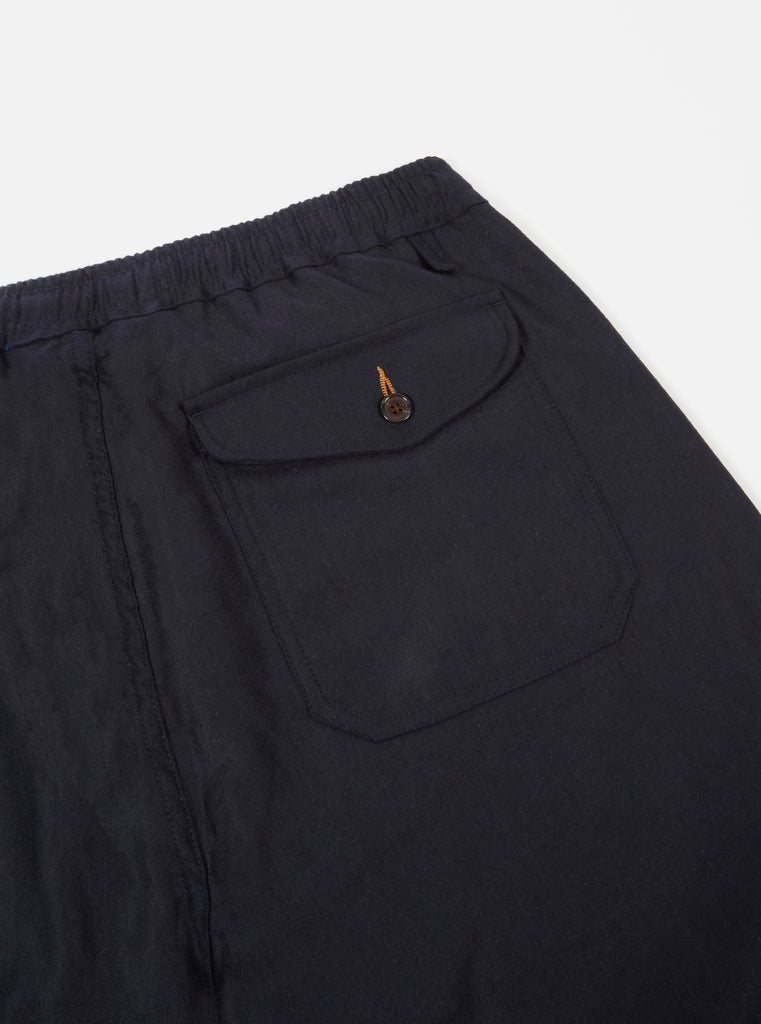 Universal Works Track Trouser in Navy Flannel