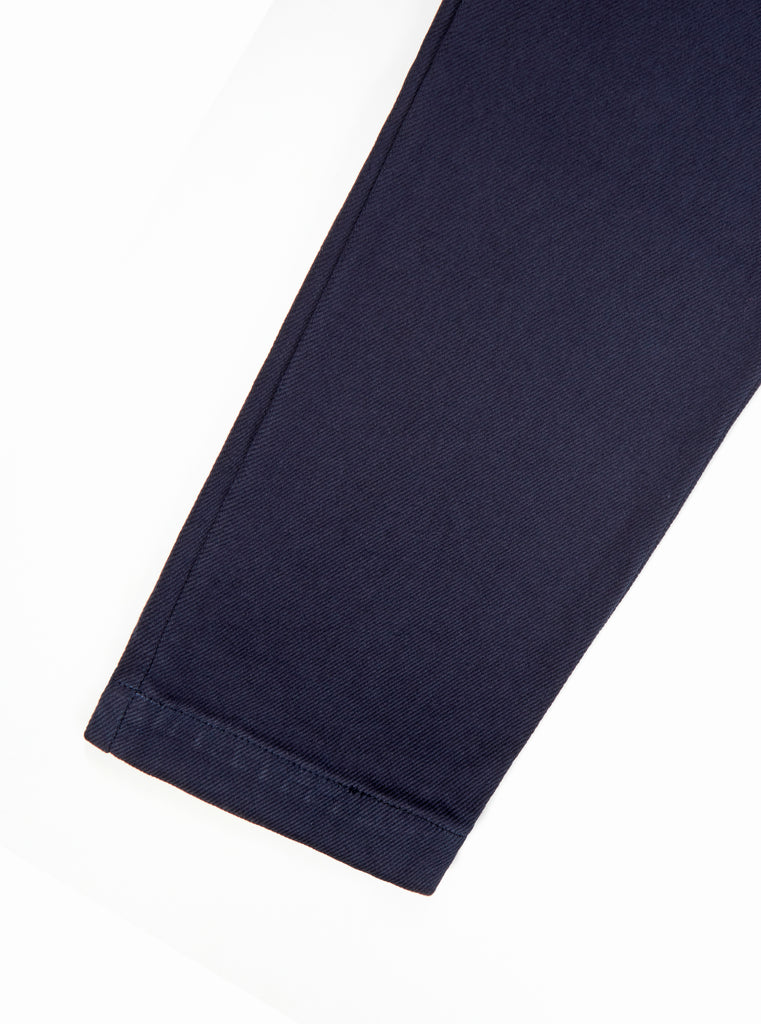 Universal Works Military Chino in Navy Truck Cotton