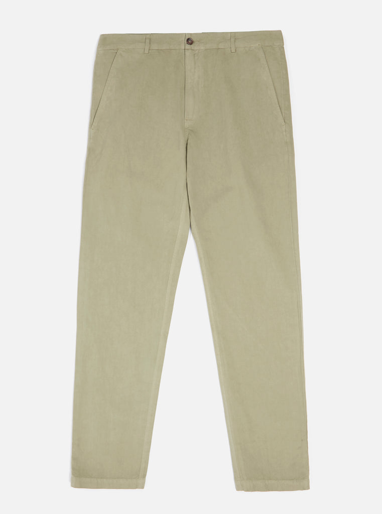 Universal Works Aston Pant in Elm Linen Cotton