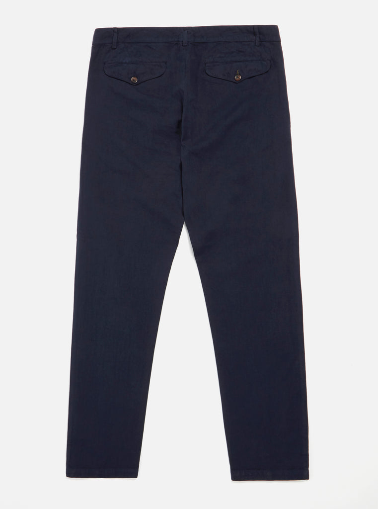 Universal Works Aston Pant in Navy Linen Cotton