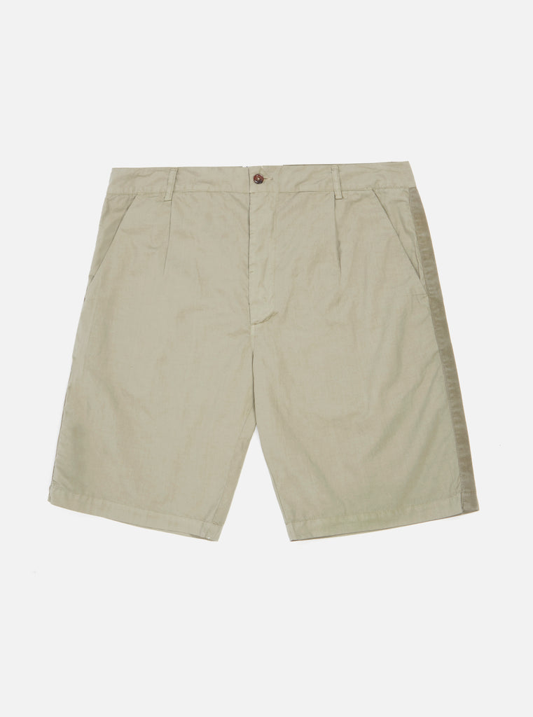Universal Works Walk Short in Laurel Poplin