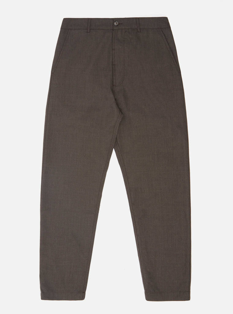 Universal Works Military Chino in Brown Tropical Suiting