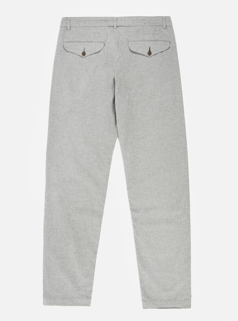 Universal Works Aston Pant in Grey Cotton Suiting II