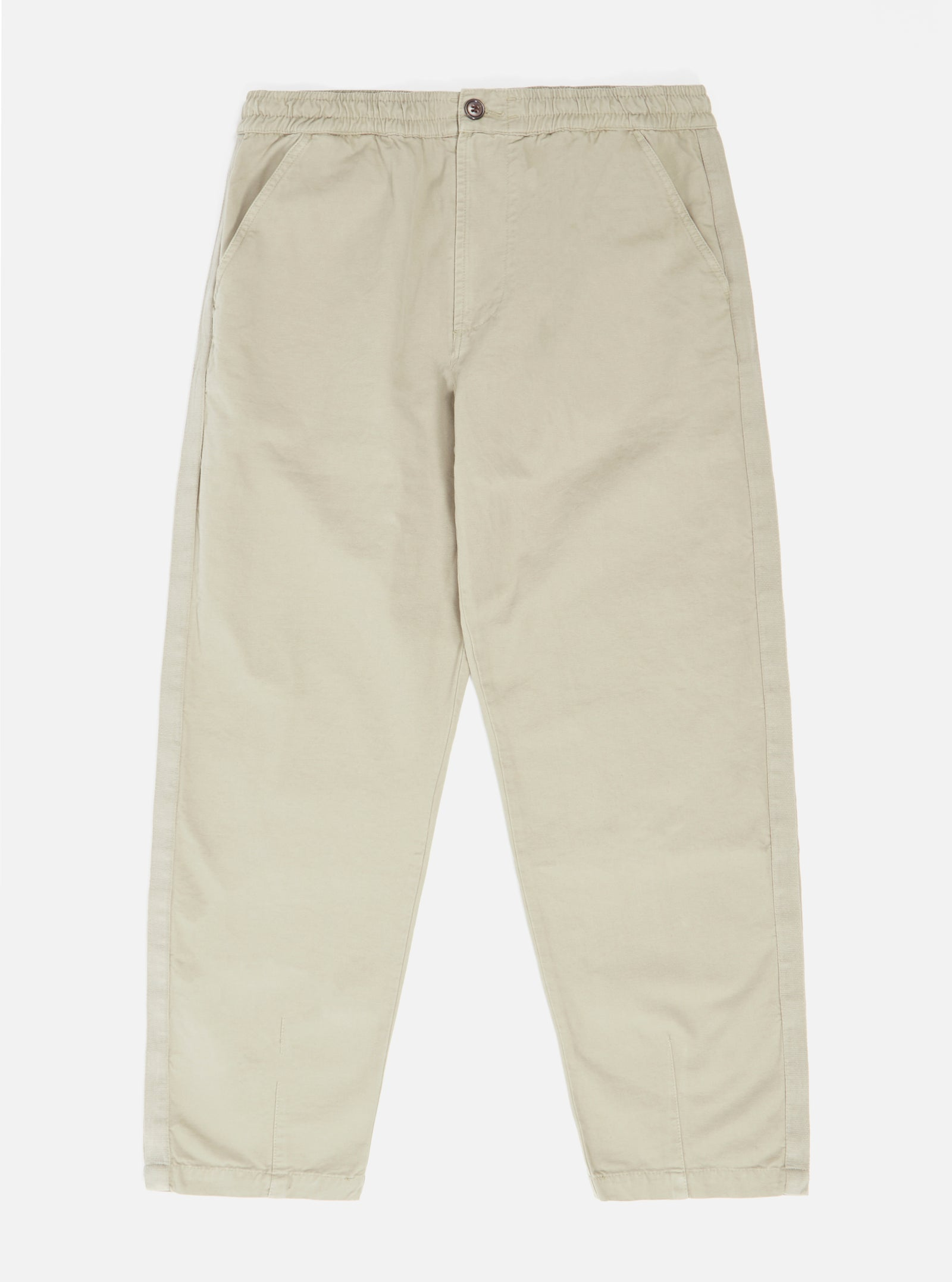 Universal Works Track Trouser in Laurel Canvas