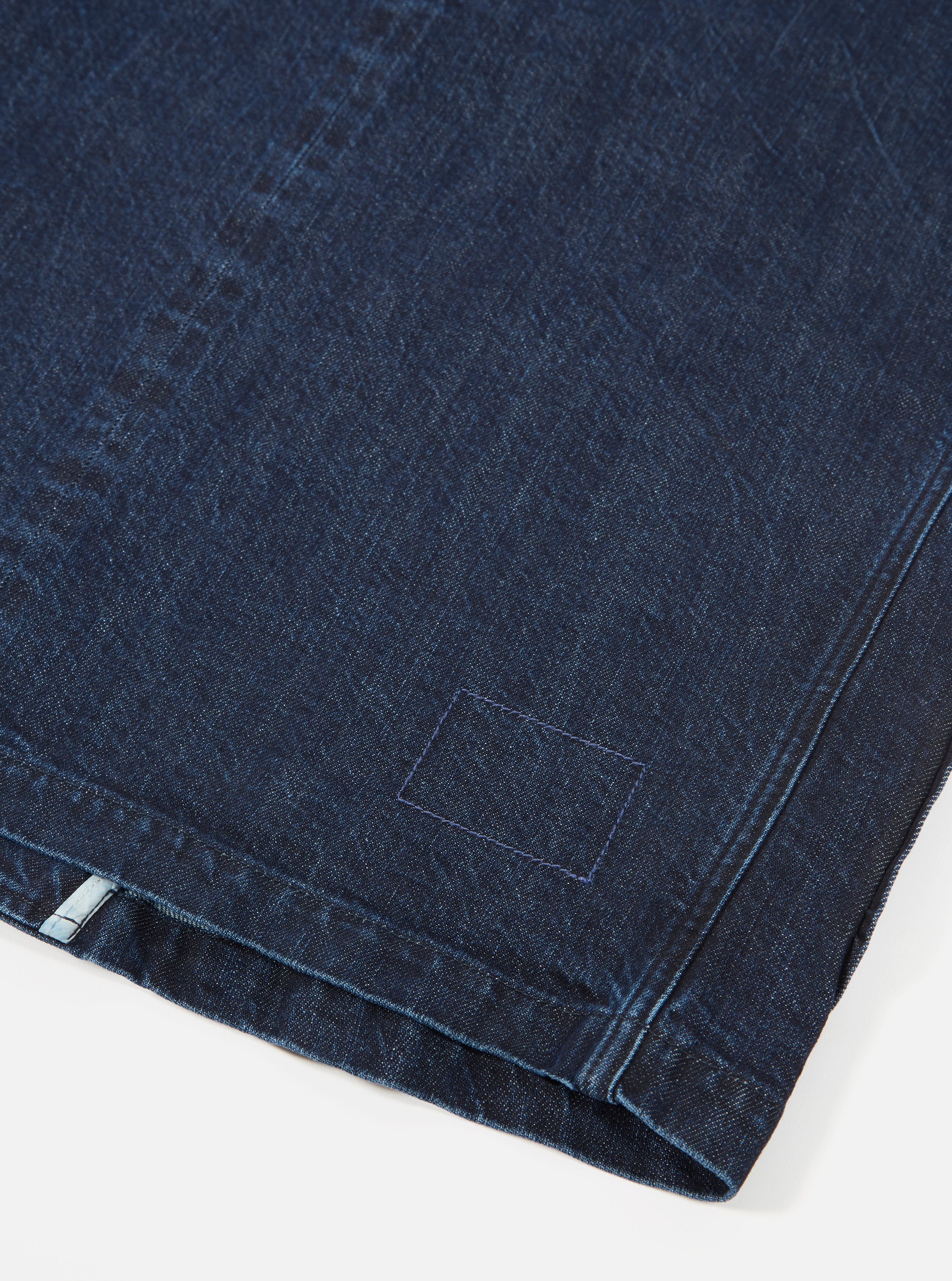 Universal Works Three Button Jacket in Washed Indigo Selvedge PT Denim