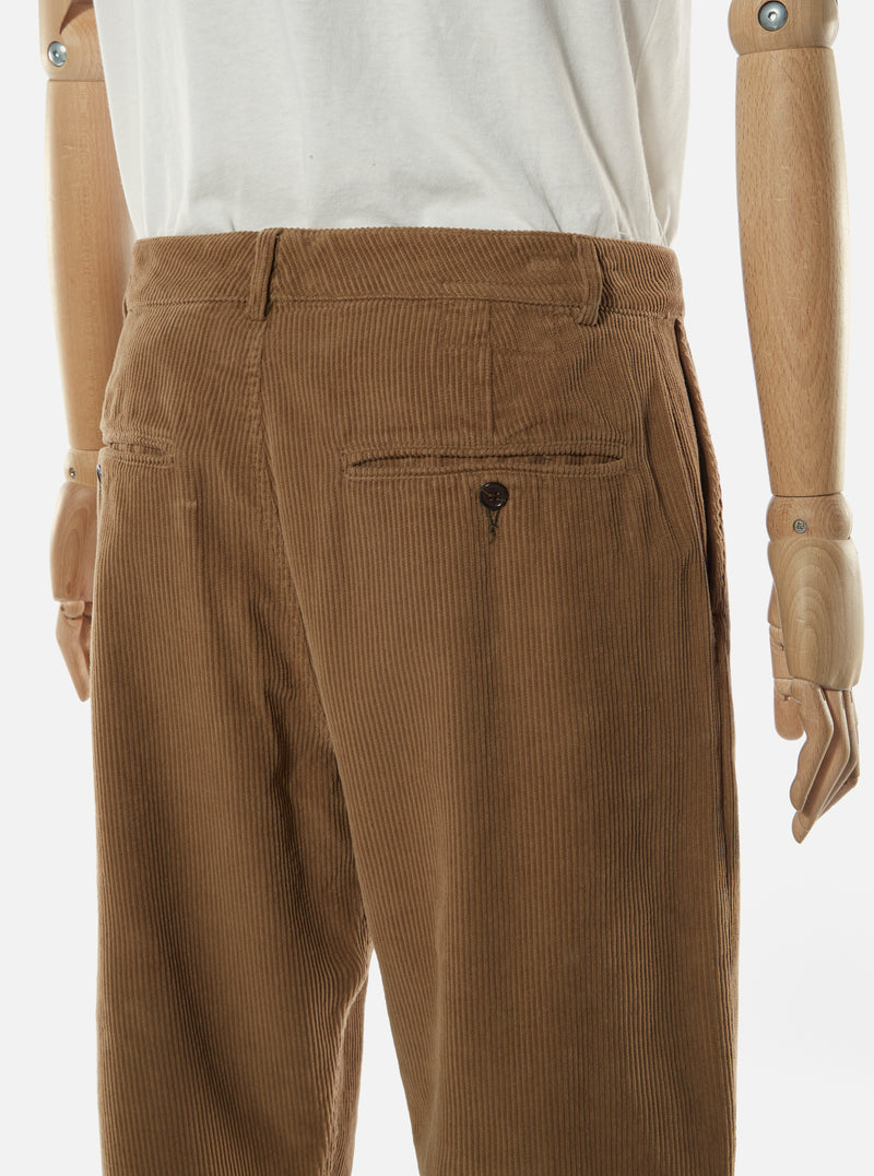 Universal Works Military Chino in Taupe Cord