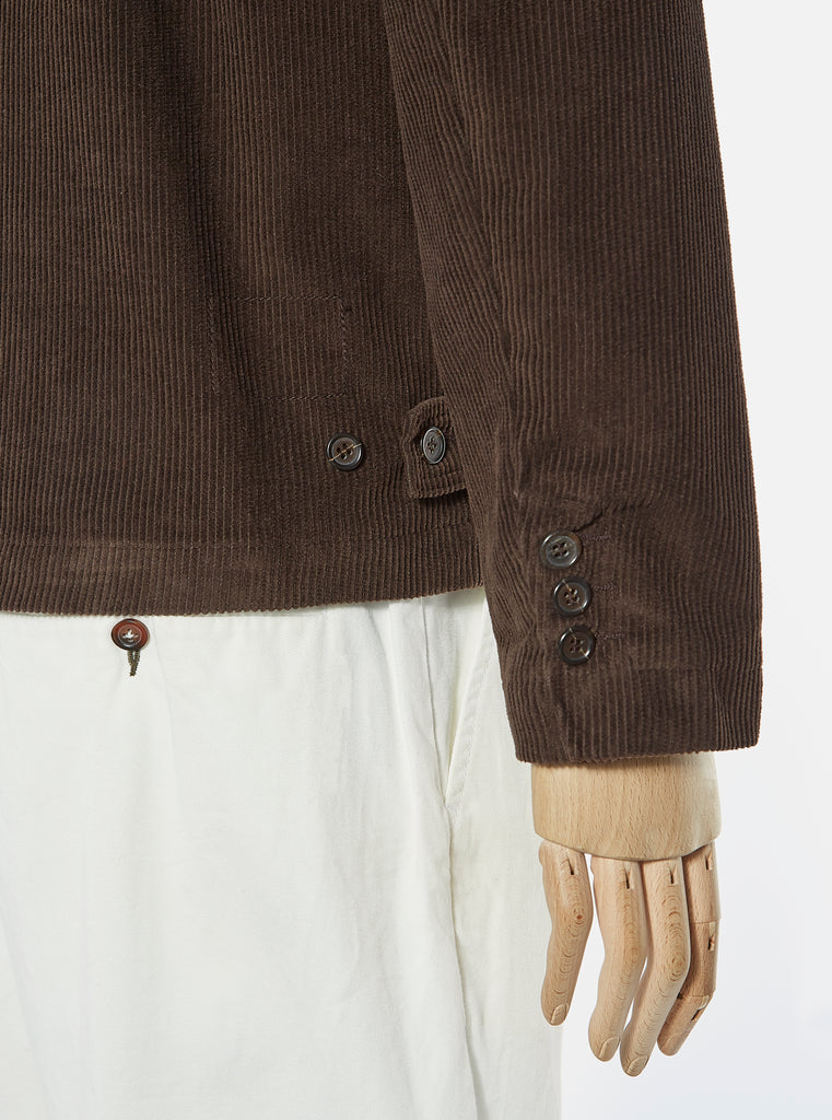 Universal Works Warmus II Jacket in Chocolate Cord