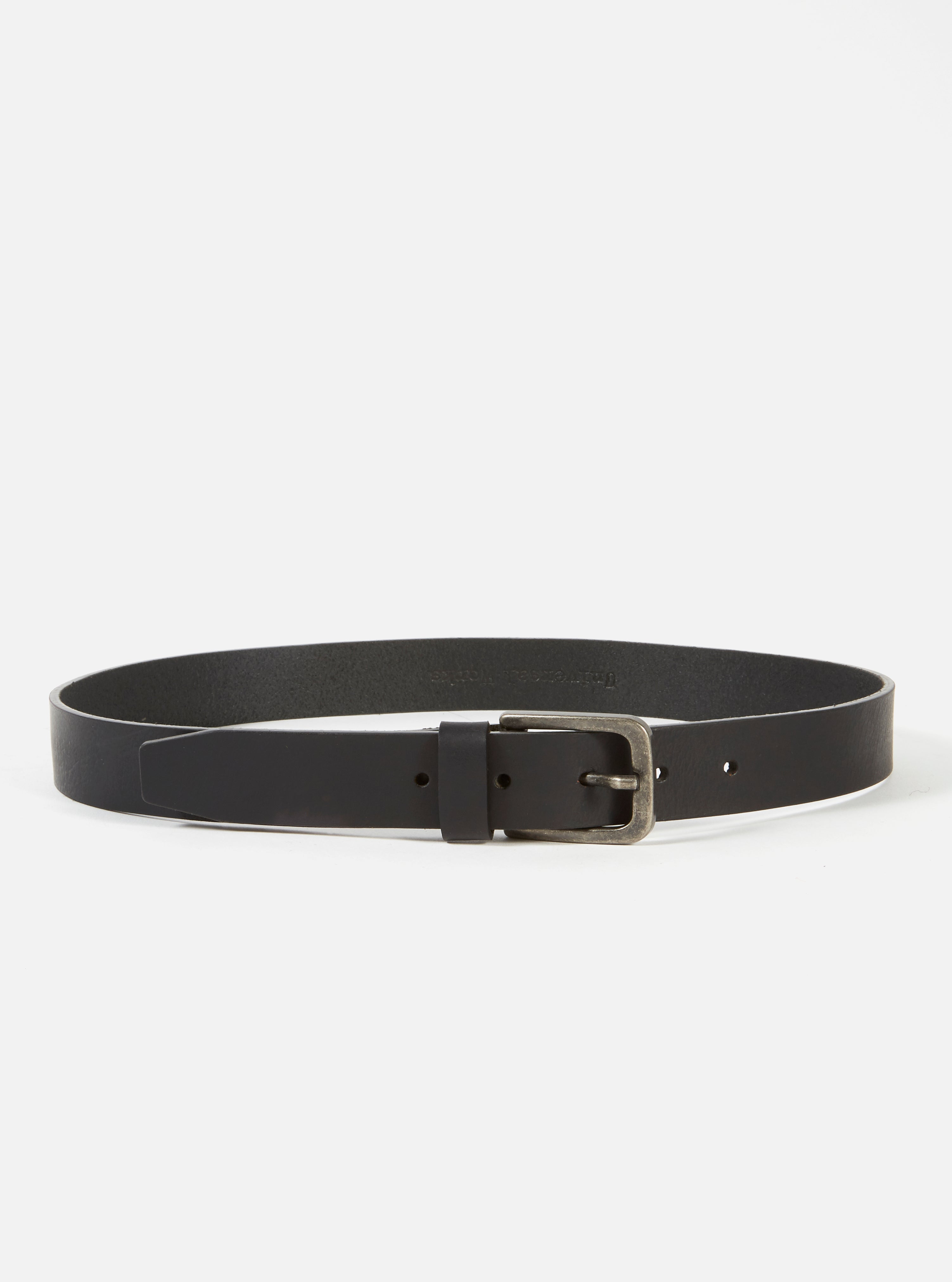 Universal Works Everyday Belt in Black Leather