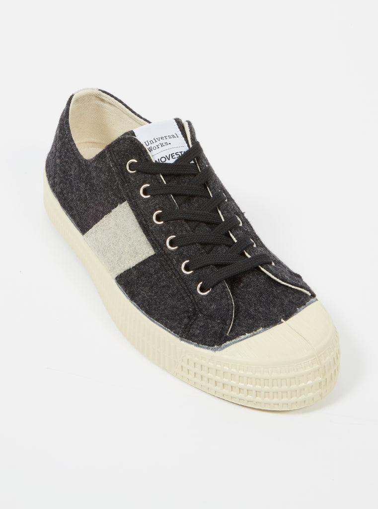 Universal Works x Novesta Star Master in Charcoal Stripe