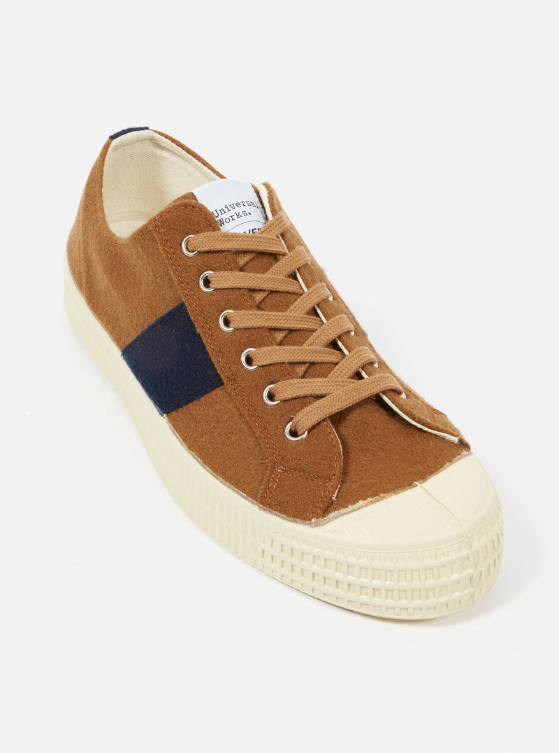 Universal Works x Novesta Star Master in Camel Stripe