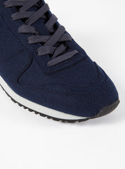 Universal Works x Novesta Star Marathon in Navy Burel Felt