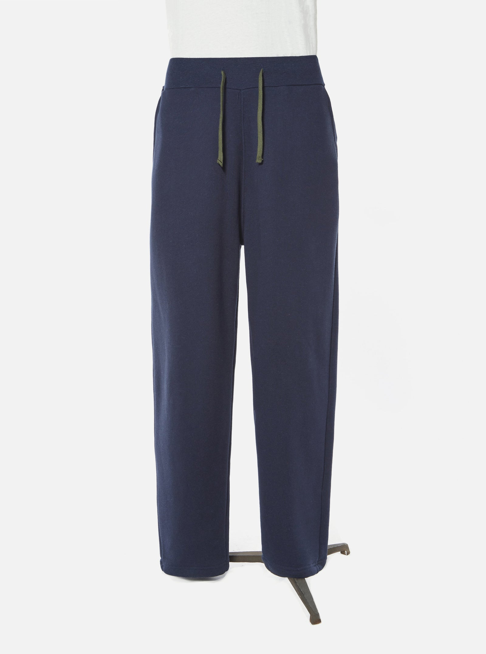 Universal Works Sweatpant in Navy Organic Mix Fleece
