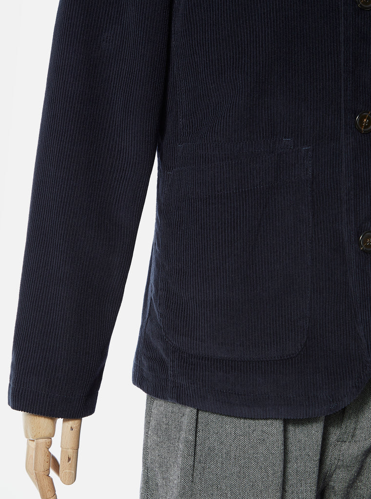 Universal Works Bakers Jacket in Navy Cord