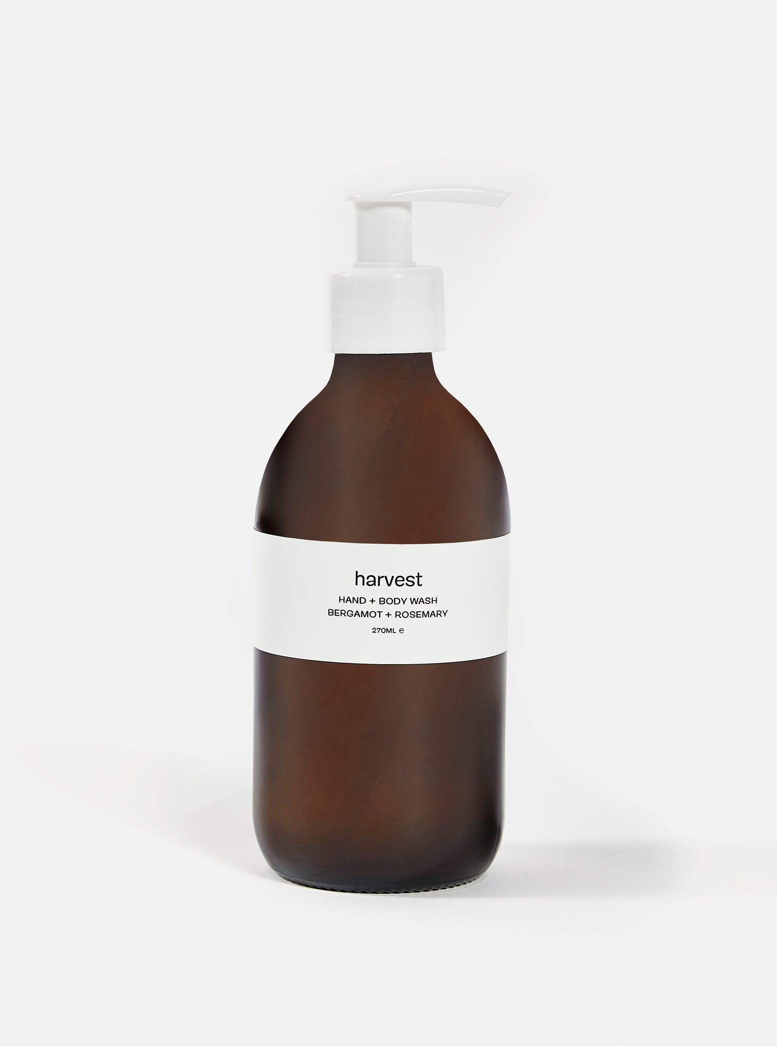 harvest 'Bergamot + Rosemary' hand and body wash - 270ml.