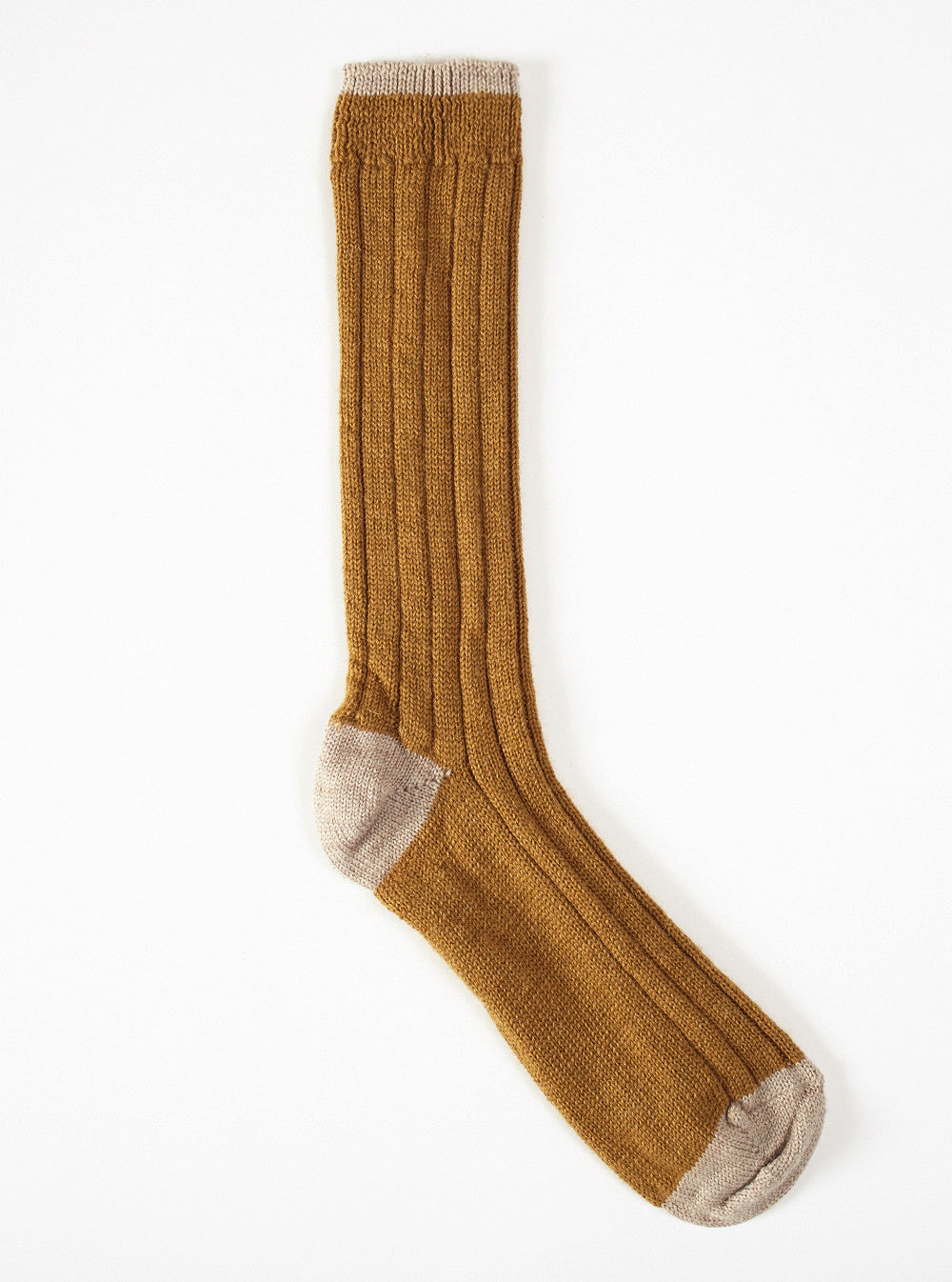 Universal Works Hike Sock In Gold Wool