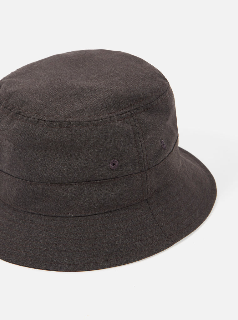 Universal Works Bucket Hat in Brown Tropical Suiting