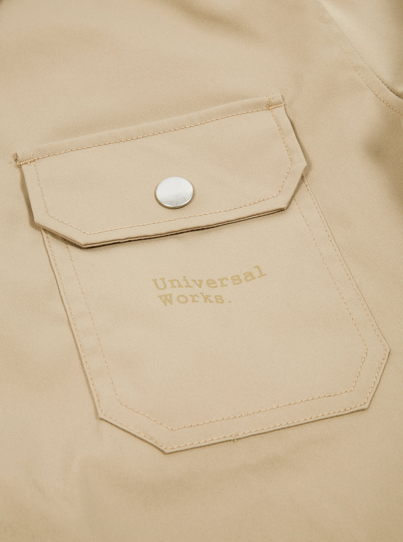 Universal Works for Logiquest Coach Jacket in Water-Resistant Twill