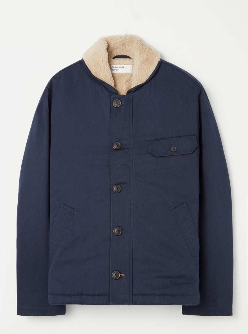 Universal Works N1 Jacket in Navy Twill