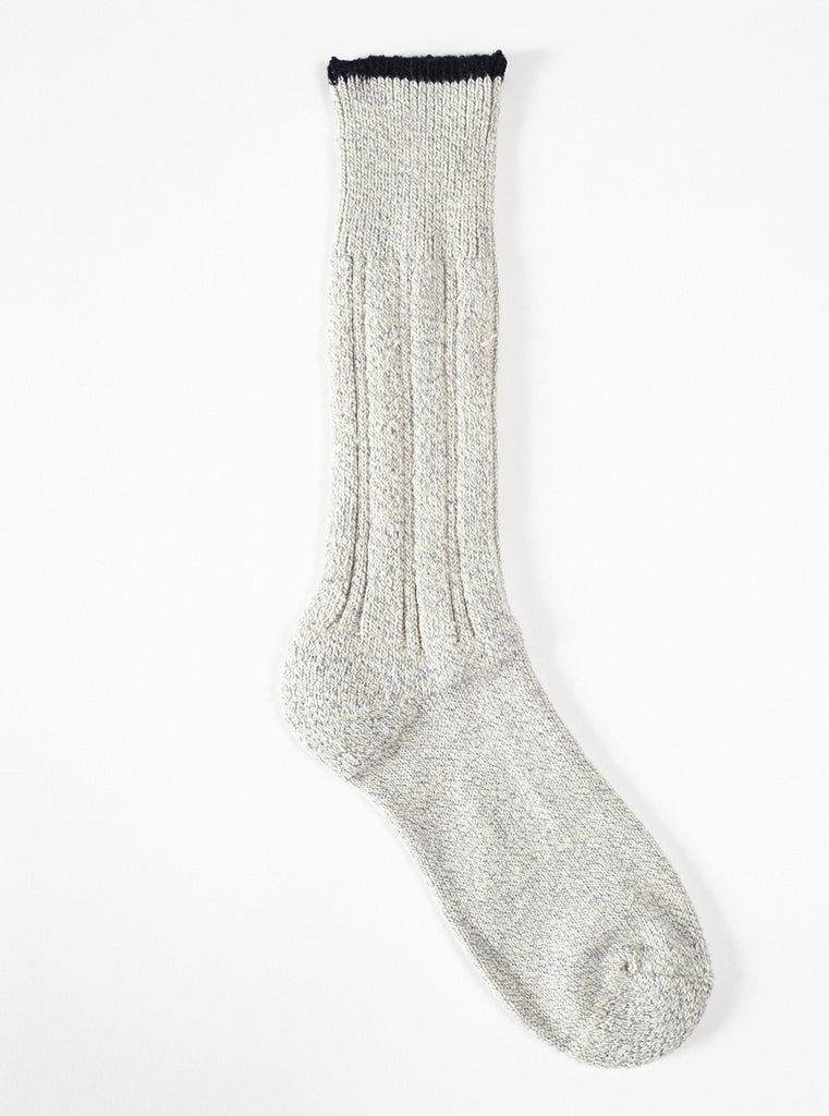 Universal Works Lt Denim Rib Sock
