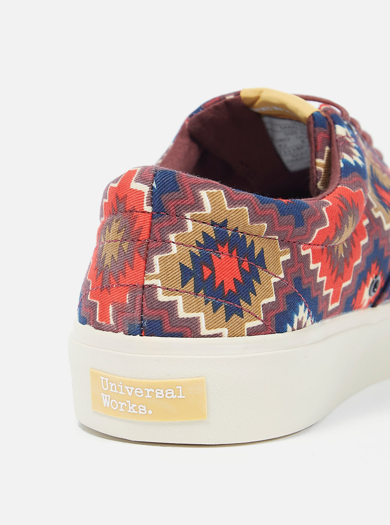 Universal Works x Sebago John in Brown Santa Fe Canvas