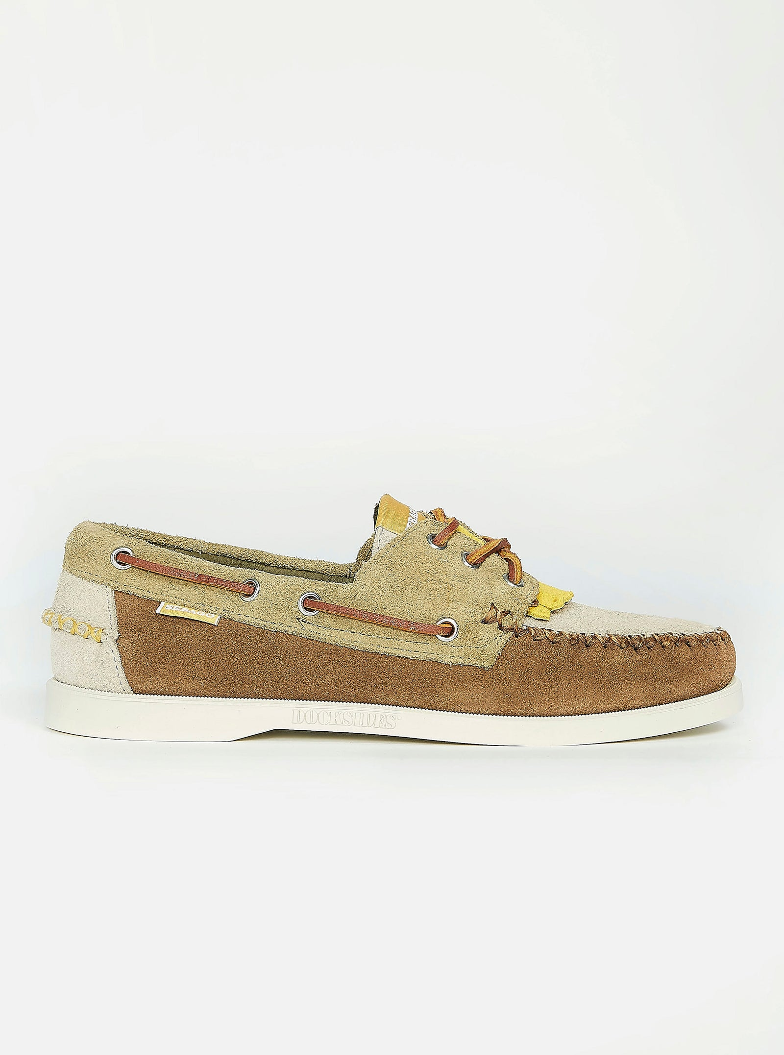 Sebago x Universal Works Portland Multi-Tone In Mix Suede