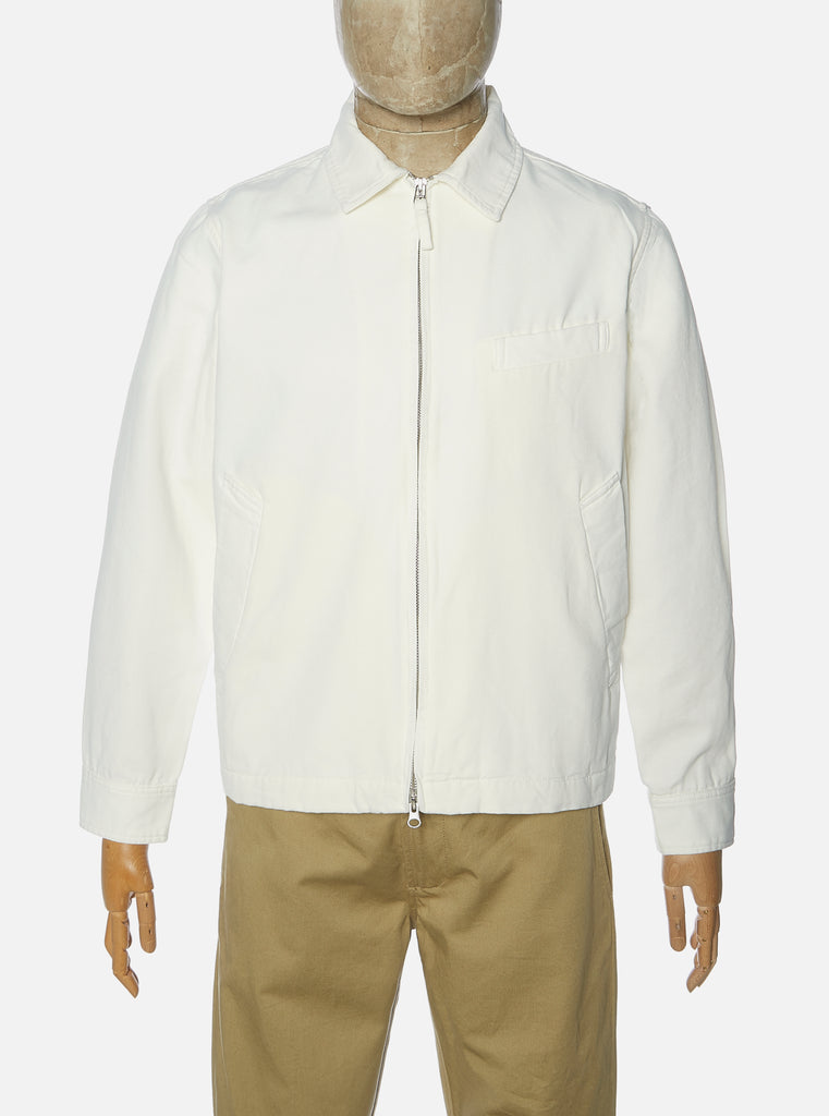 Universal Works Windcheater II Jacket in Ecru Canvas