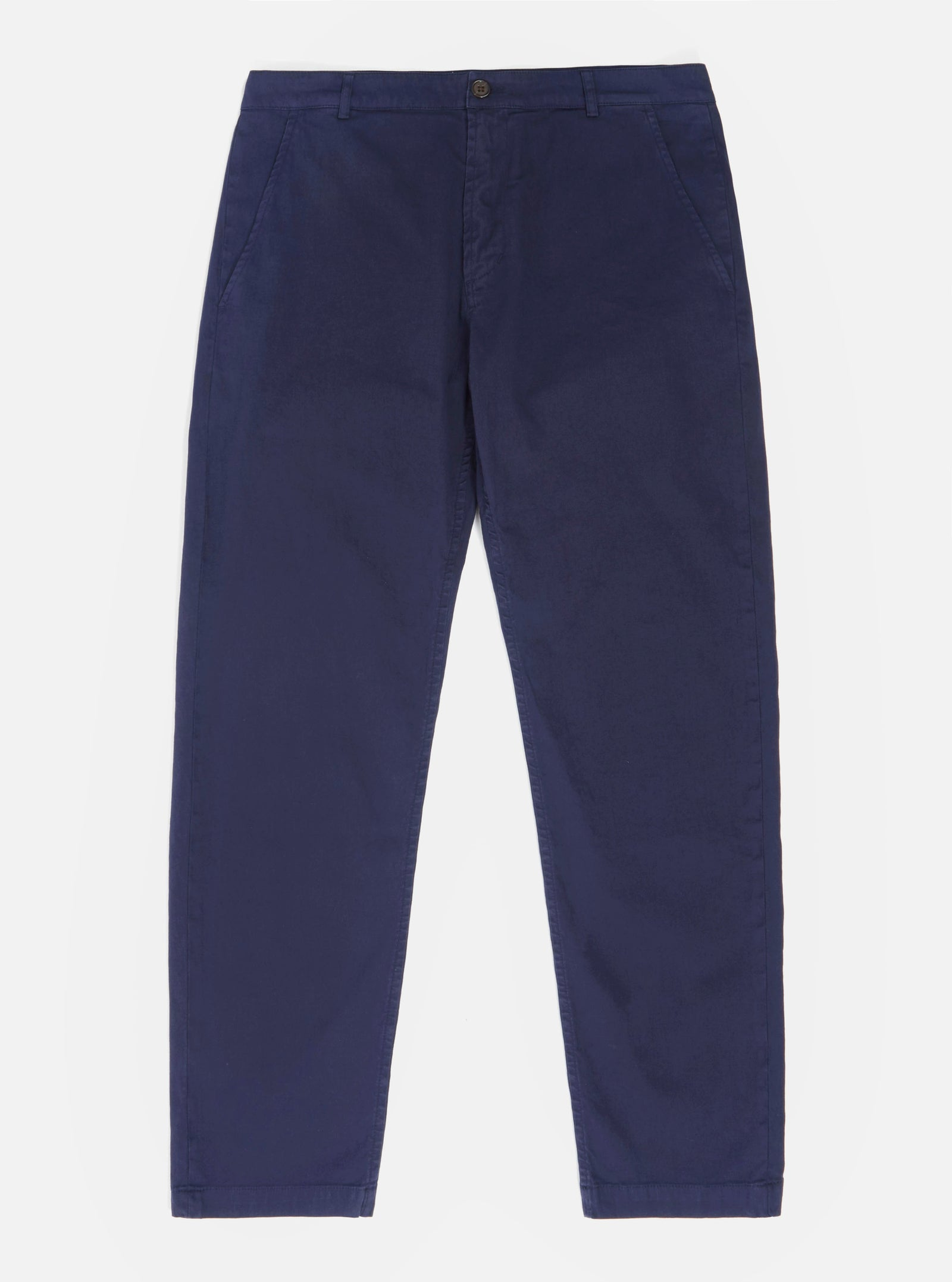 Universal Works Aston Pant in Navy Fine Weave Cotton