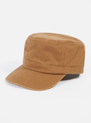 UW x H.W.Dog Field Cap in Brown British Cotton