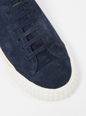 Universal Works x P.F. Flyers Center Lo in Navy Suede
