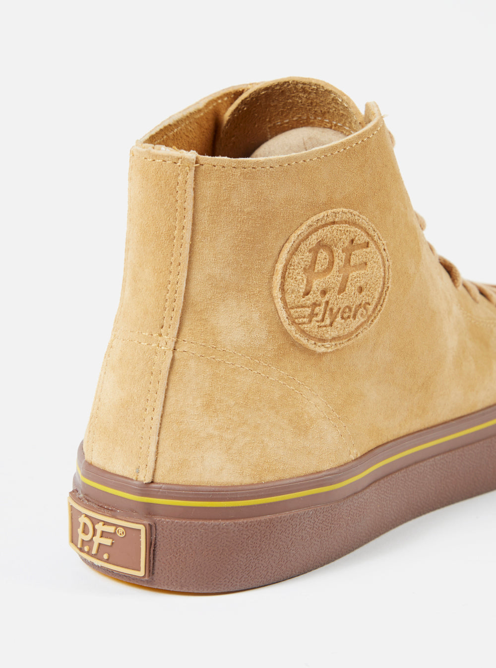 Universal Works x P.F. Flyers Center Hi in Sand Suede