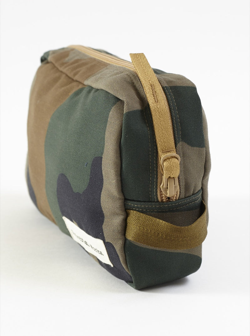 Universal Works Large Travel Bag In Camo