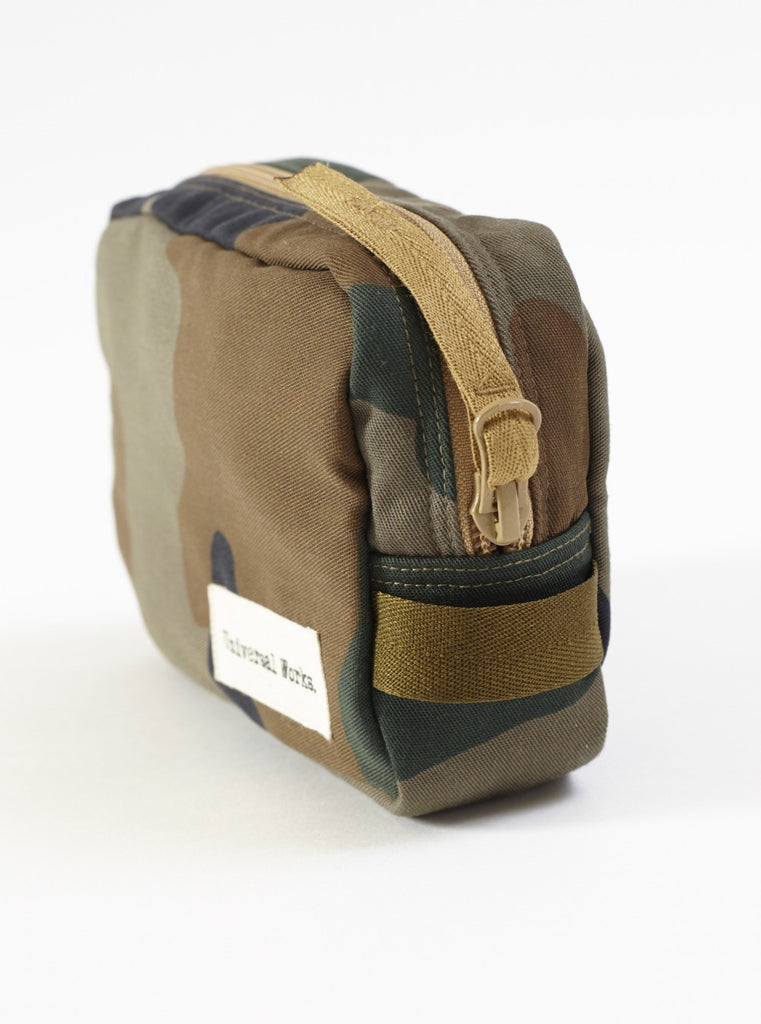 Universal Works Medium Travel Bag In Camo