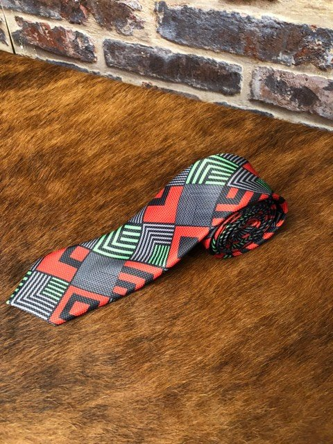 Multi Colour Pattern Tie 2