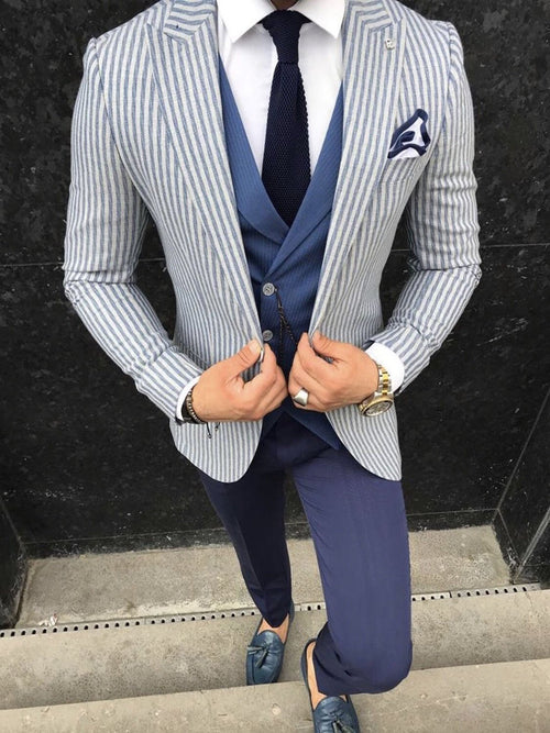 Apollo - Navy 3 Piece Suit