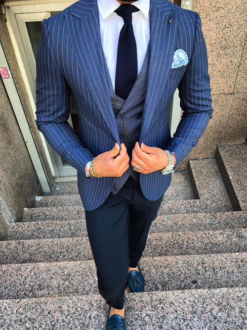 Fargo - Navy 3 Piece Suit