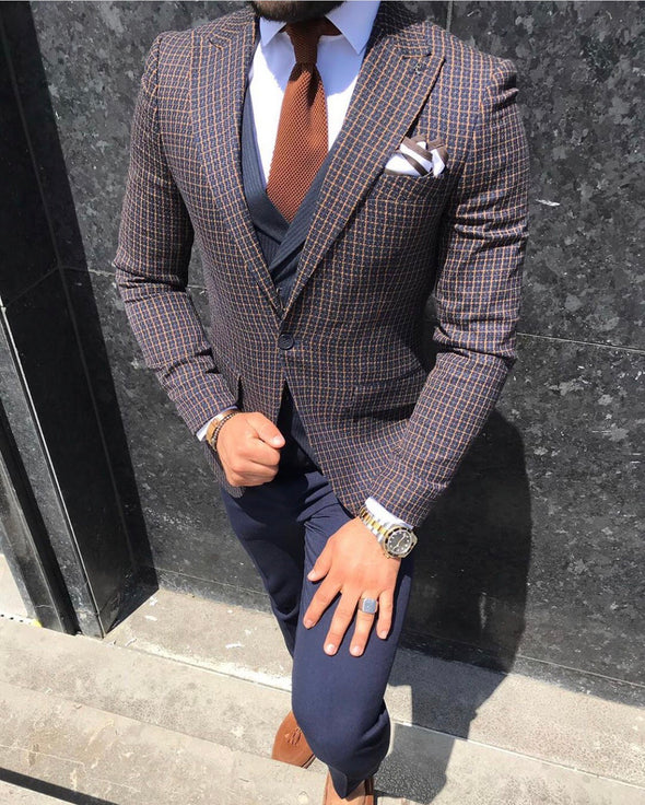Lawson - Navy 3 Piece Suit