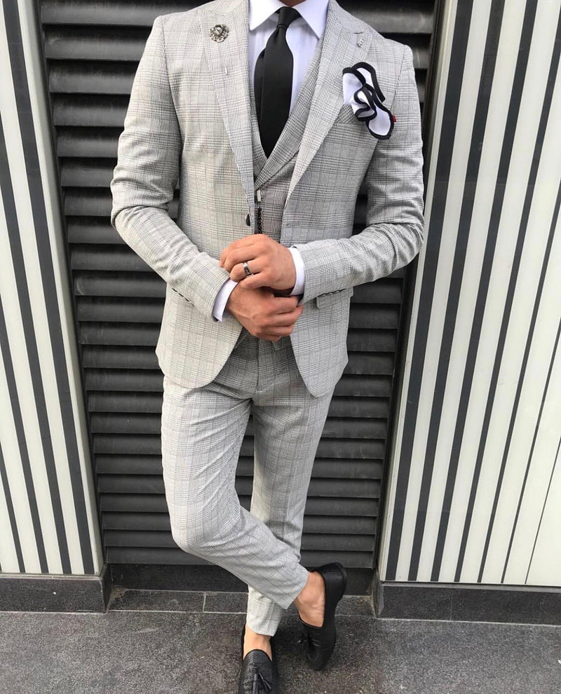 Eko - Light Grey 3 Piece Suit