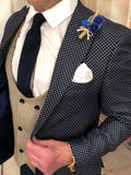 Andrea - Navy 3 Piece Suit