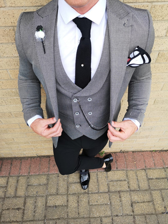Marshall - Dark Grey 3 Piece Suit