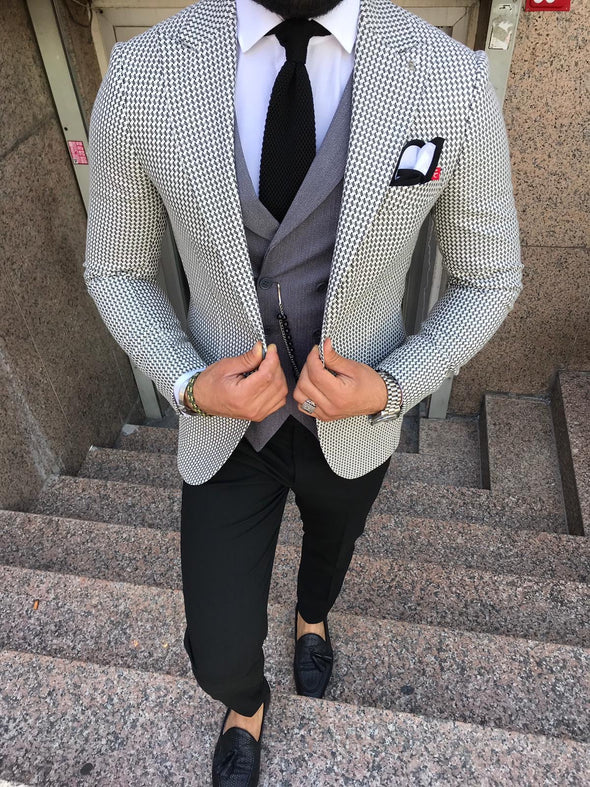 Nixon - Grey 3 Piece Suit