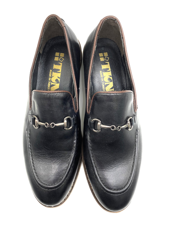 Hazel Loafer Shoe - Black