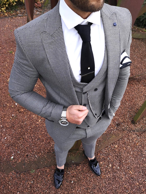 Selby - Grey 3 Piece Suit