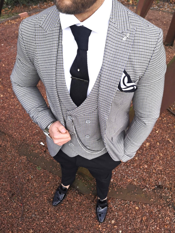 London - Brown 3 Piece Suit