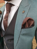 Lachina - Green 3 Piece Suit