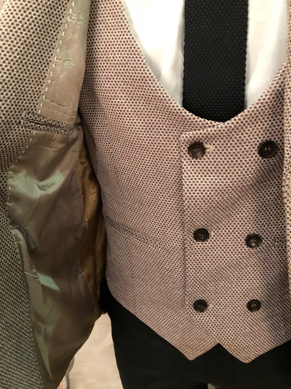 Preston - Beige 3 Piece Suit