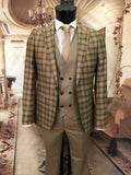 Esmond - Brown 3 Piece Suit